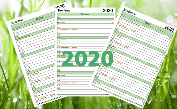 Download Årskalender 2020
